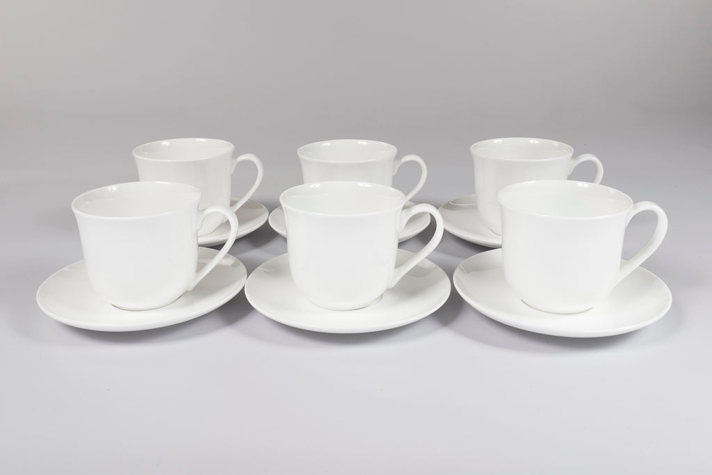 St James Breakfast Cup & Saucer Set of 6