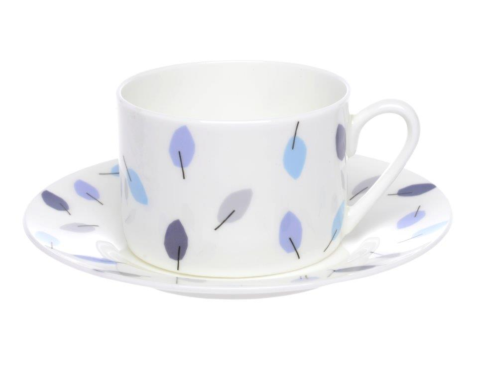 Sorrel Cups & Saucers Set of 6