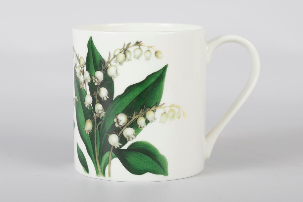 Lilly of the English Valley Set of 6 Mugs