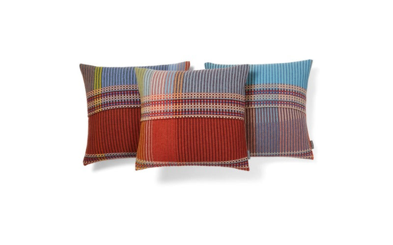 """Beatrix"" Lambswool Pinstripe Cushion"