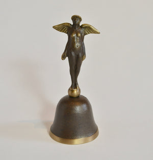 Cast Bronze Angel Bell