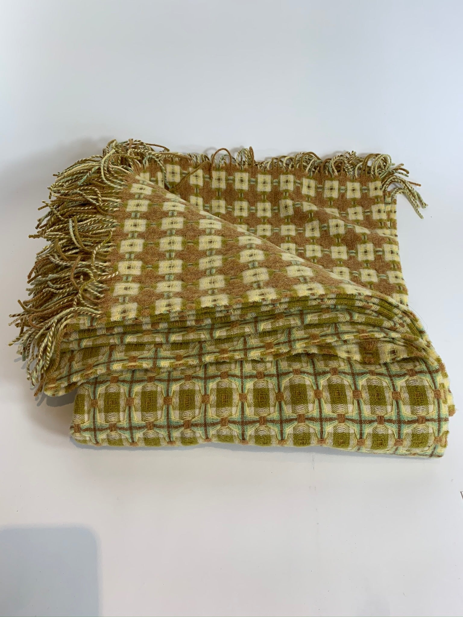 Reversible Lambswool Throw