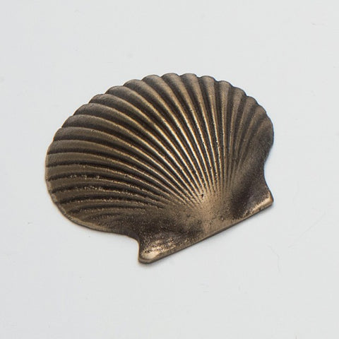 Cast Bronze Scalloped Shell