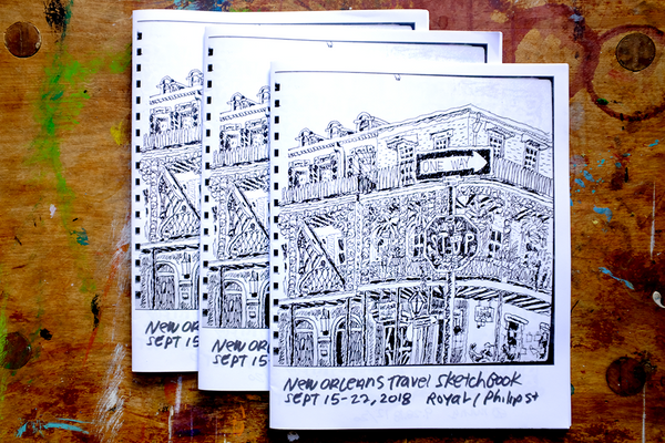 New Orleans Travel Sketchbook