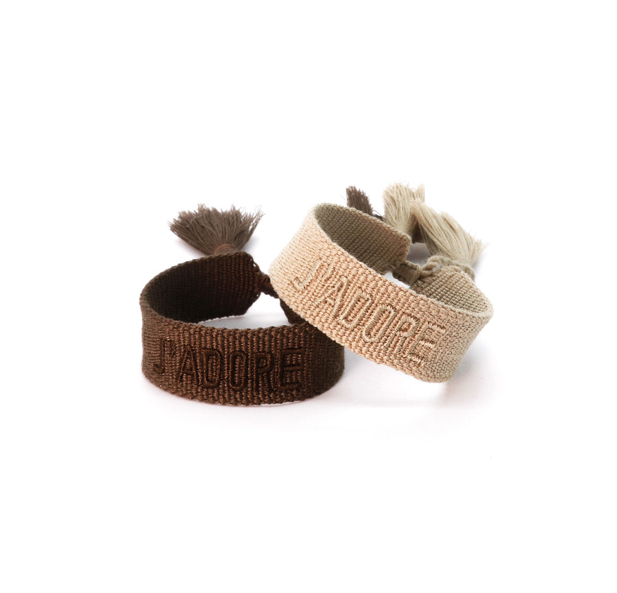 J'ADORE FRIENDSHIP BRACELET - NEUTRALS