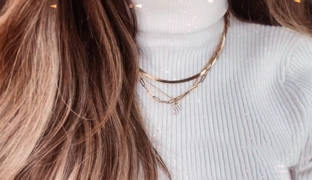 SNAKE NECKLACE - NAKED CHAIN