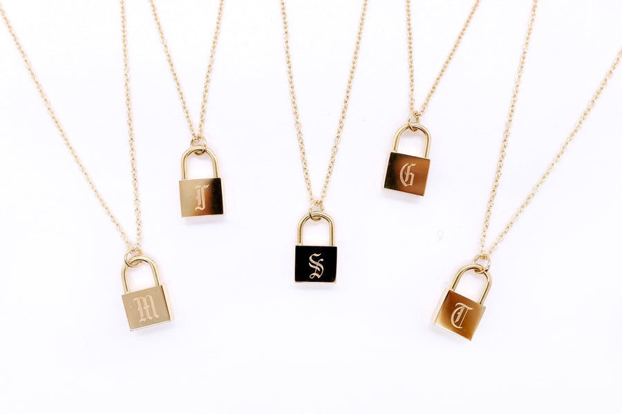 MICRO LOCK NECKLACE
