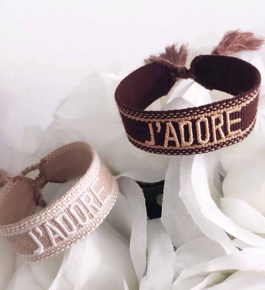 J'ADORE FRIENDSHIP BRACELETS