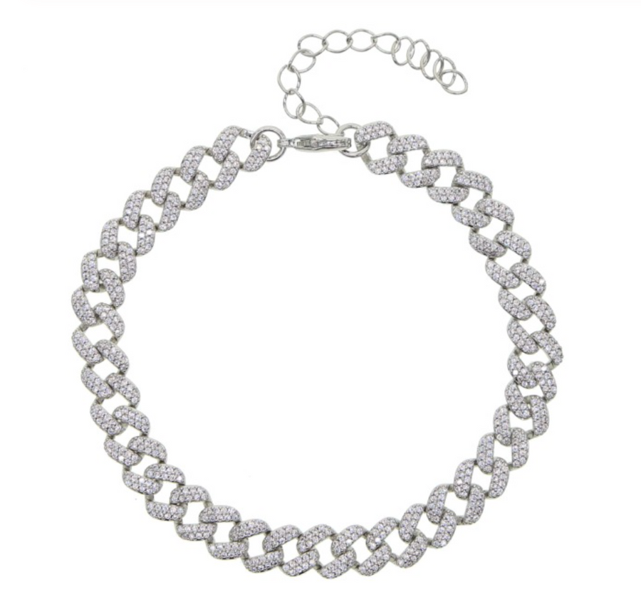 DIAMOND LINK ANKLET