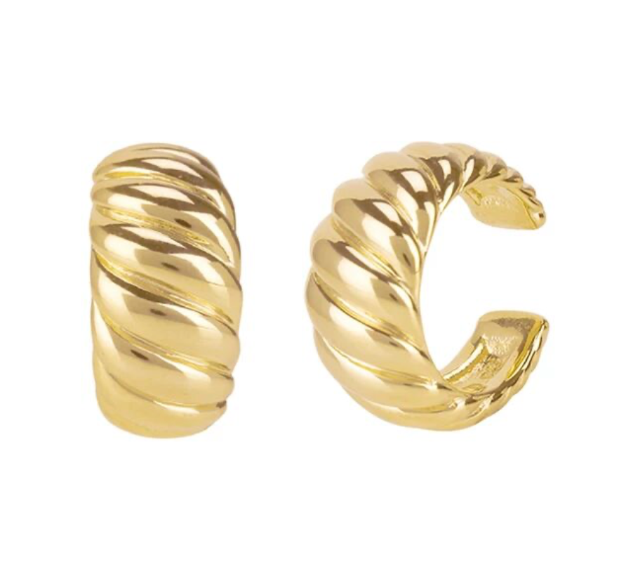CROISSANT EARRING CUFF