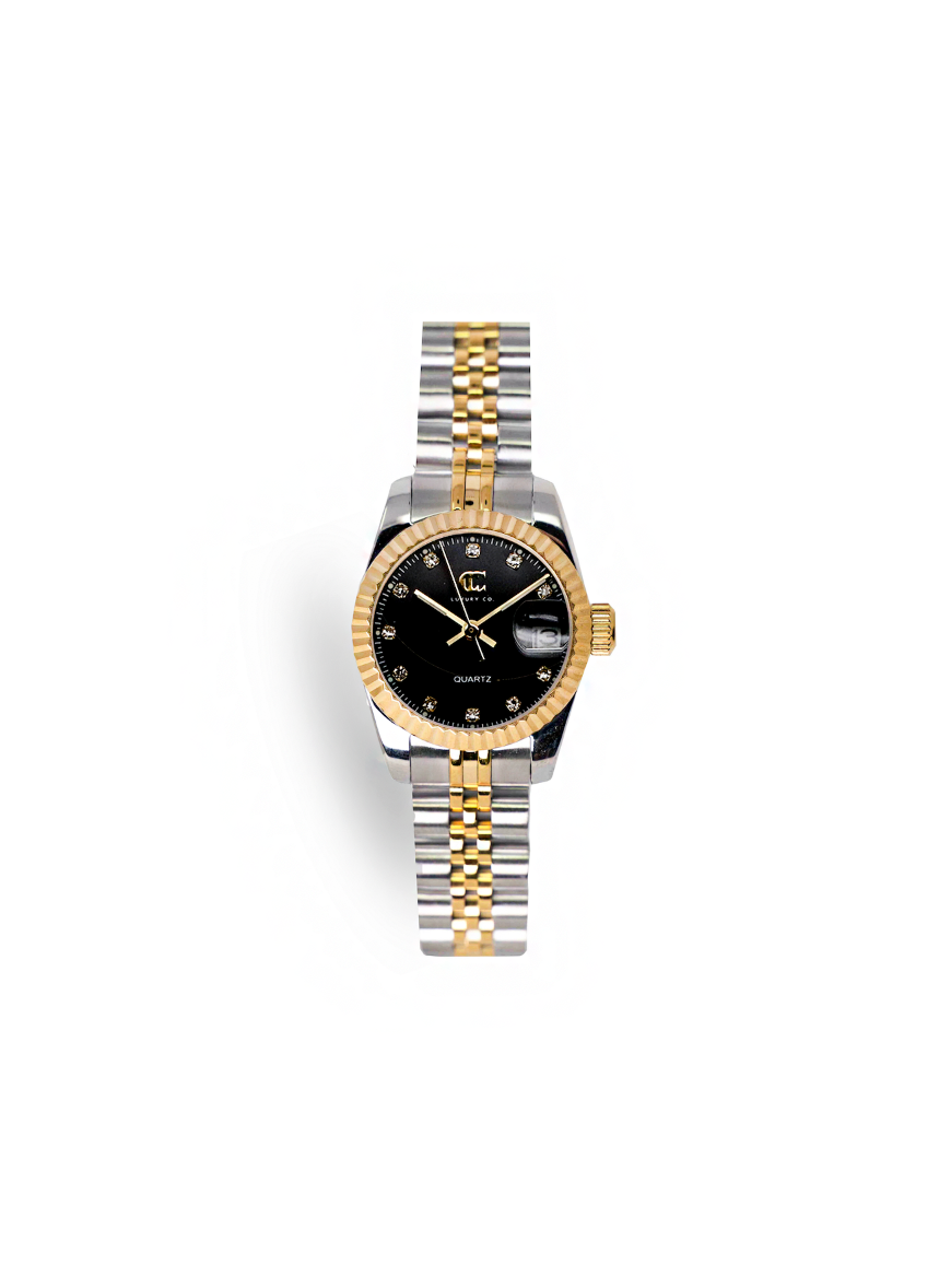 CC CLASSIC WATCH - TWO TONE + BLACK