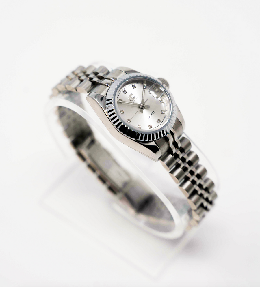 CC CLASSIC WATCH - SILVER + SILVER