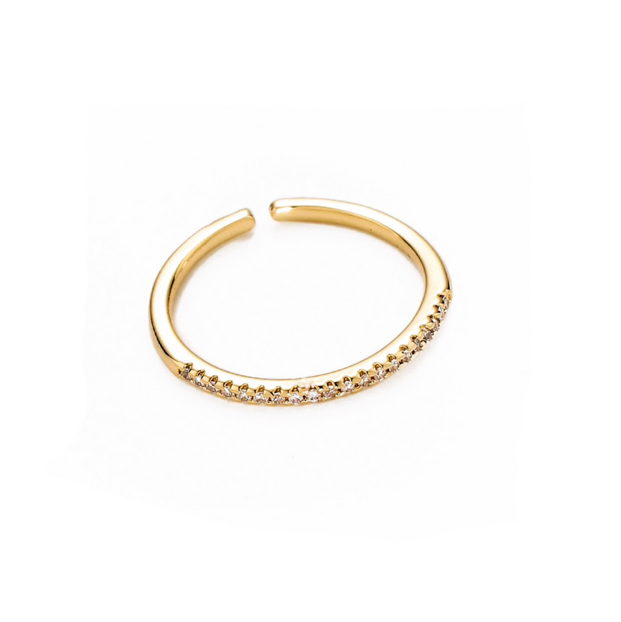 ADJUSTABLE GOLD FILLED ETERNITY BAND