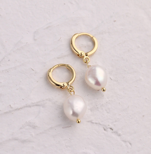 LIMA EARRINGS (REAL PEARL)