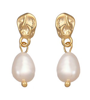 HARPER EARRINGS (REAL PEARL)