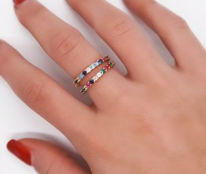 LA SIRENE RAINBOW RING