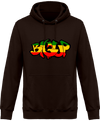 Sweat Shirt à Capuche Unisex Big Up