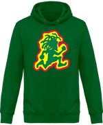 Sweat Shirt à Capuche Unisex Running Rasta