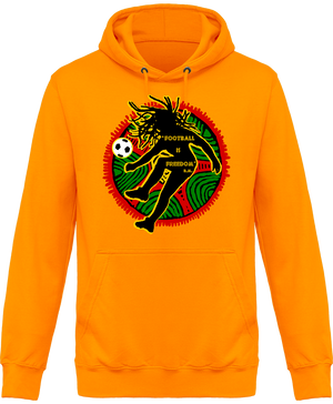 Sweat Shirt à Capuche Unisex Football is Freedom