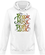 Sweat Shirt à Capuche Unisex Reggae Music is the People Music