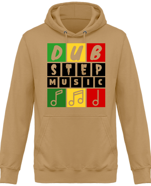 Sweat Shirt à Capuche Unisex Dubstep Music