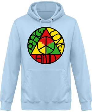 Sweat Shirt à Capuche Unisex Peace design