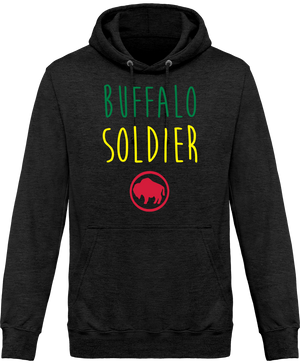 Sweat Shirt à Capuche Unisex Buffalo Soldier