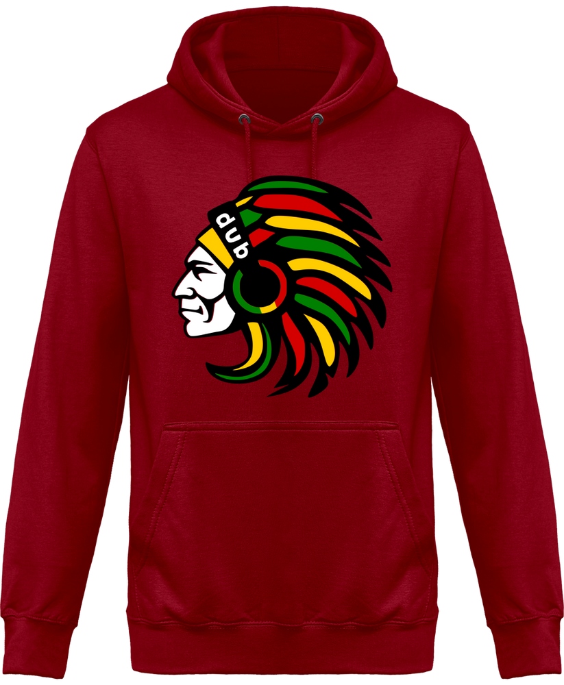 Sweat Shirt à Capuche Unisex Indian Dub