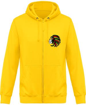 Sweat Shirt Zippé Capuche Indian Dub