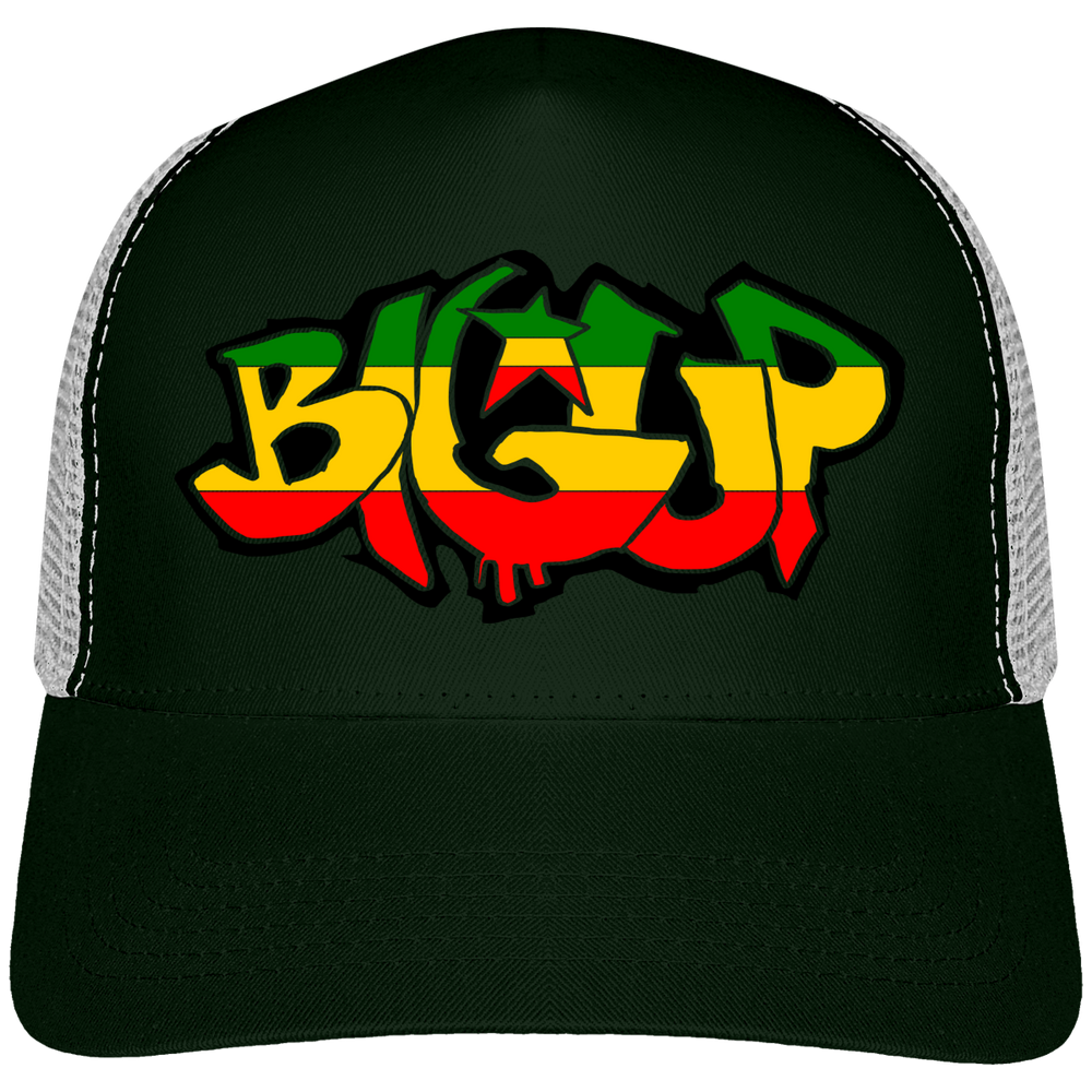 Casquette Trucker Rasta Big Up