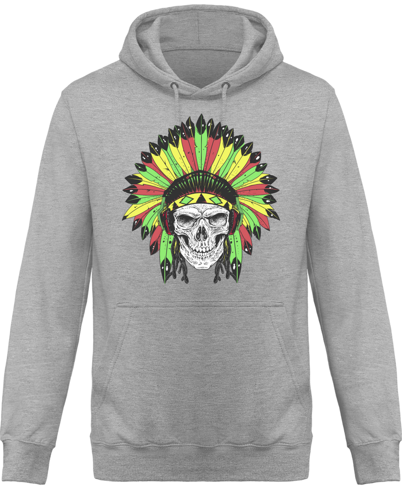 Sweat Shirt à Capuche Homme Rastafari Native