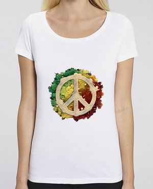 T-shirt Femme Peace and Love