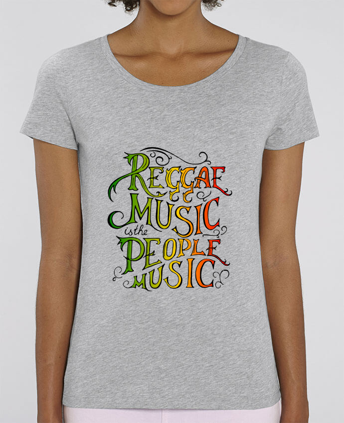 T-shirt Femme Reggae Music is the People Music