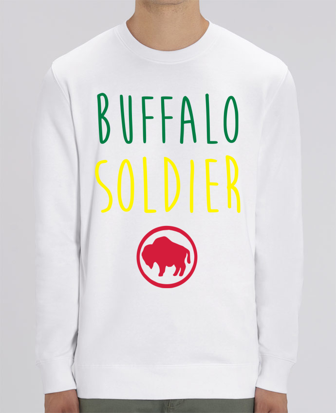 Sweat Col rond Unisex Buffalo Soldier