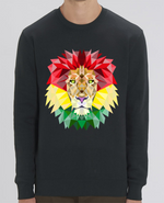 Sweat Col rond Unisex Rastafari Lion