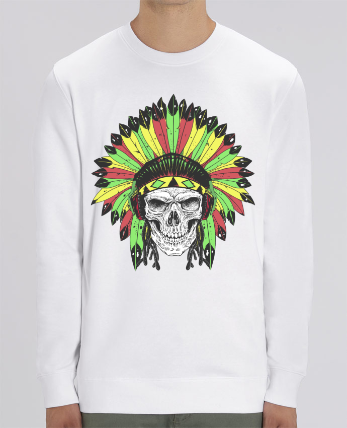 Sweat Col rond Unisex Rastafari Native