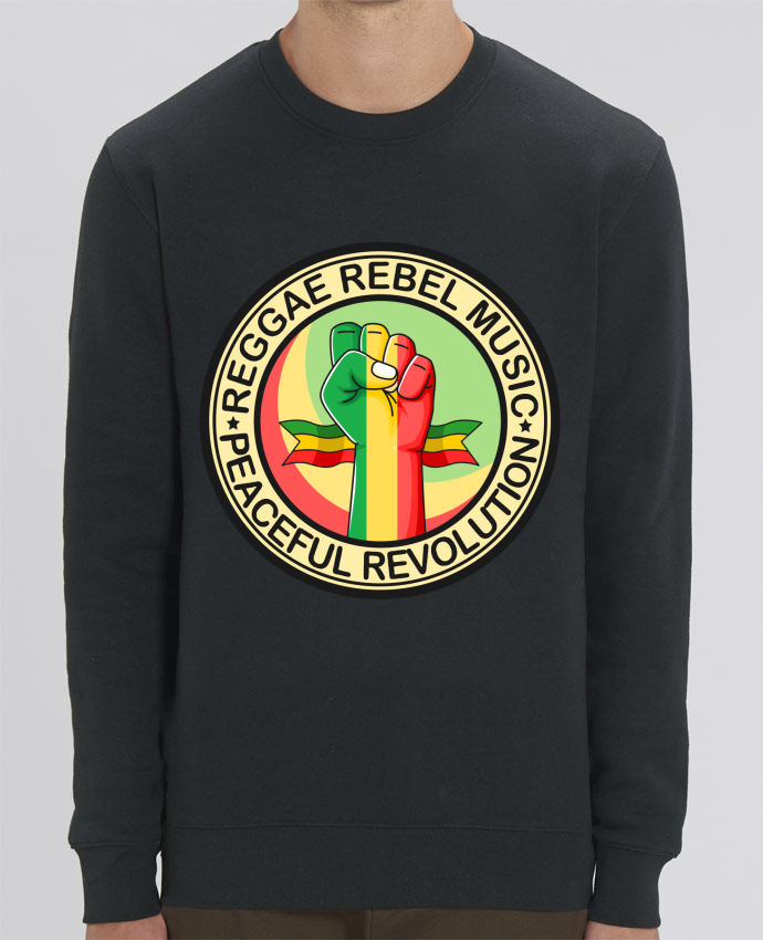 Sweat Col rond Unisex Reggae Rebel Music