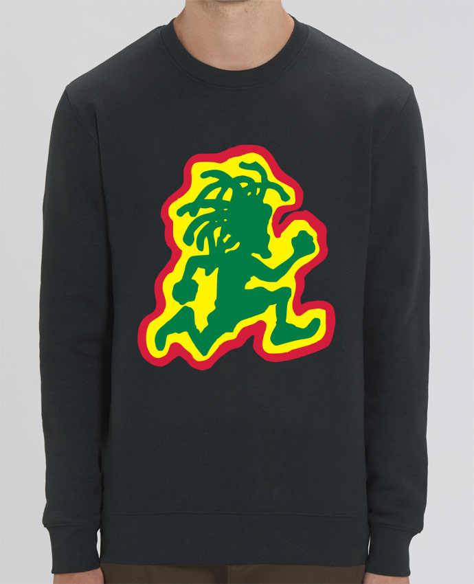 Sweat Col rond Unisex Running Rasta