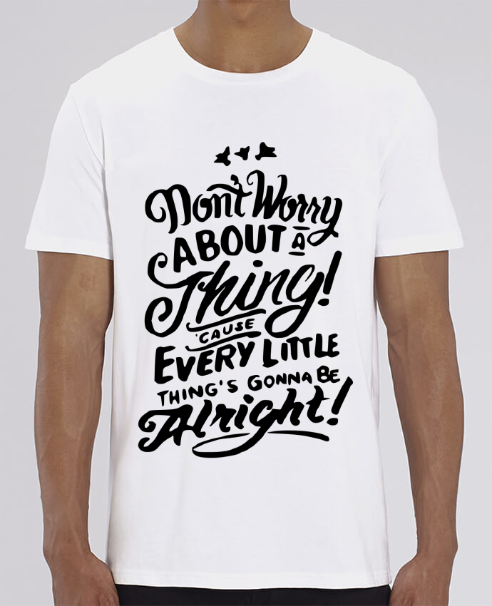 T-Shirt Col Rond Don't Worry
