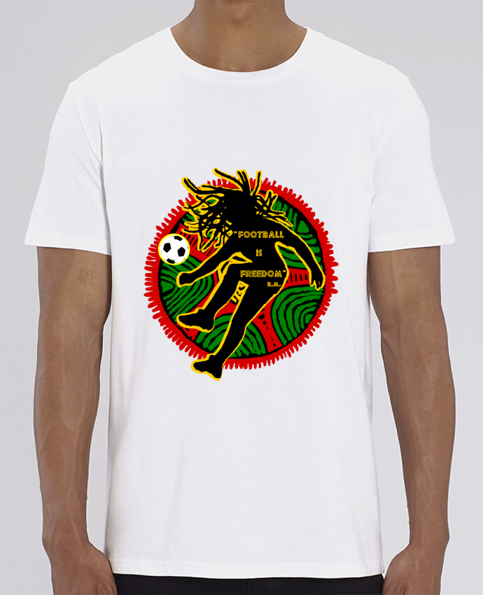 T-Shirt Col Rond Football is Freedom