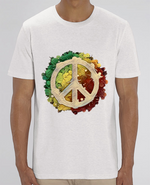 T-Shirt Col Rond Peace and Love