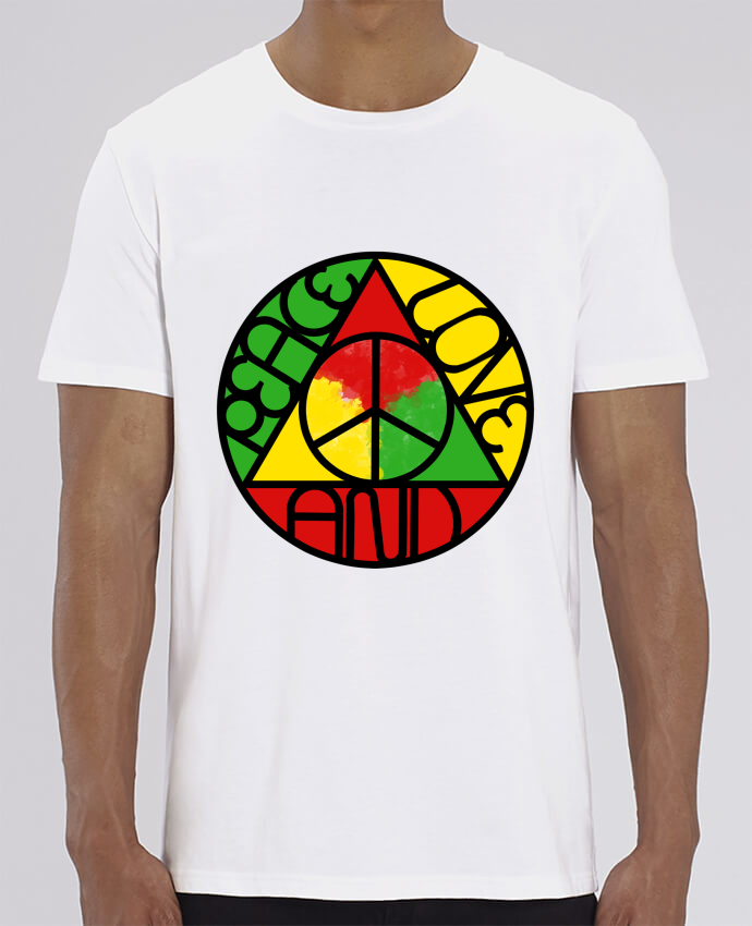 T-Shirt Col Rond Peace design