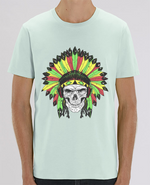 T-Shirt Col Rond Rastafari Native
