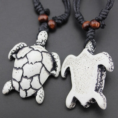 Collier rasta tortue