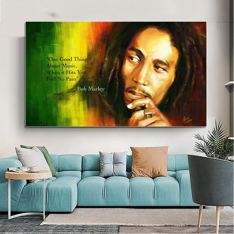 tableau bob marley - citation