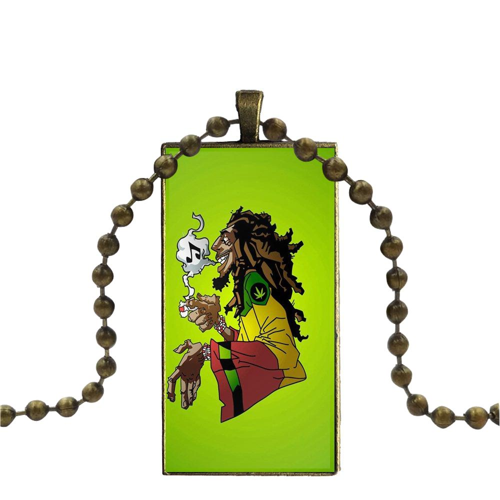collier bob marley - inspiration