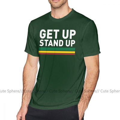 t shirt rasta - get up