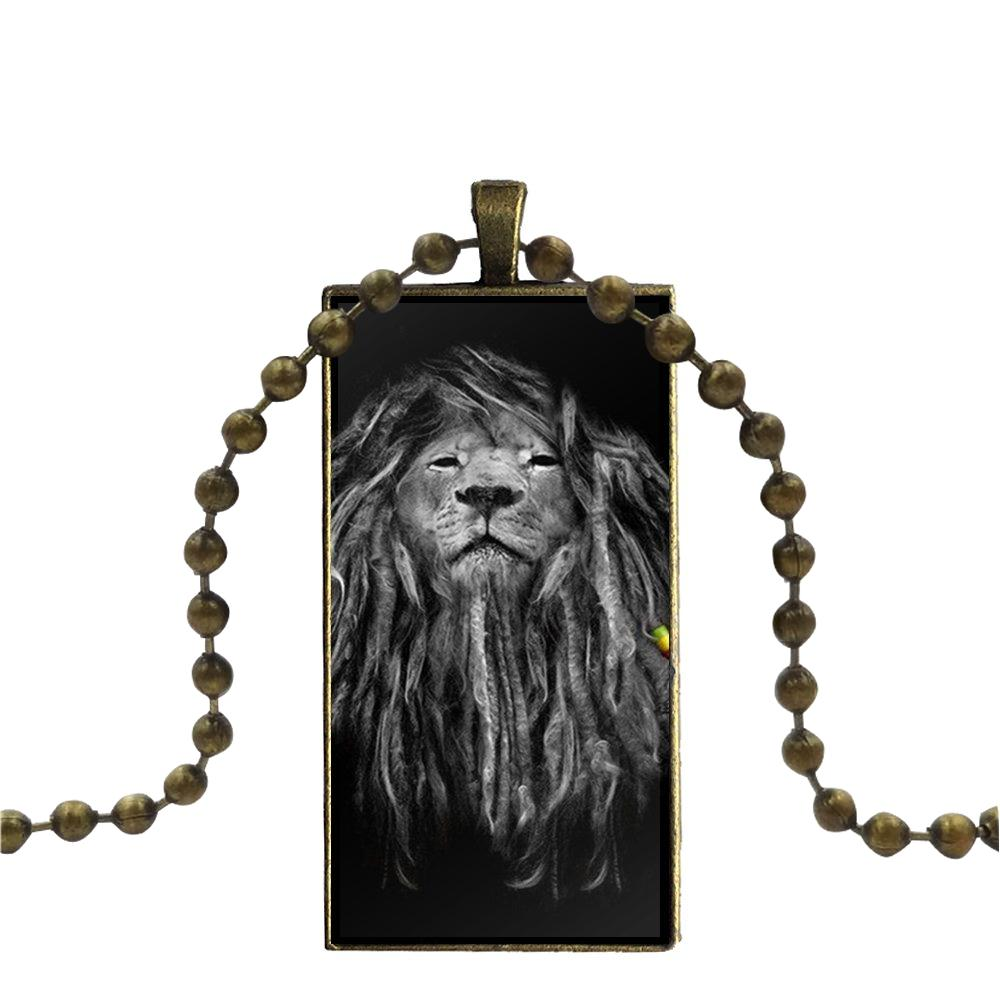 collier rasta - lion sage