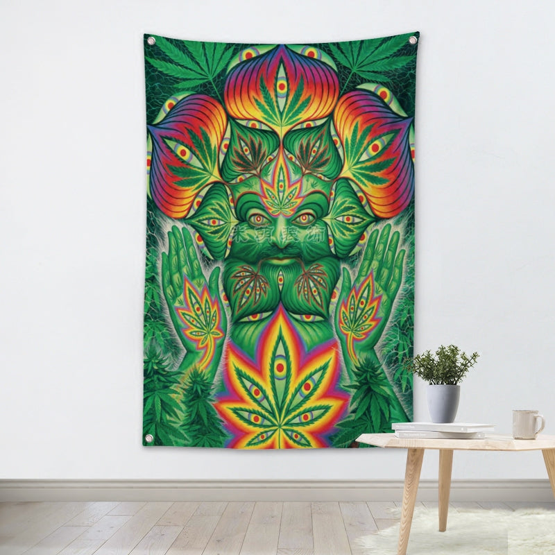 Tenture Psychedelic Weed