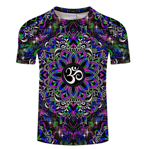 T-Shirt Col Rond Dreamy Om